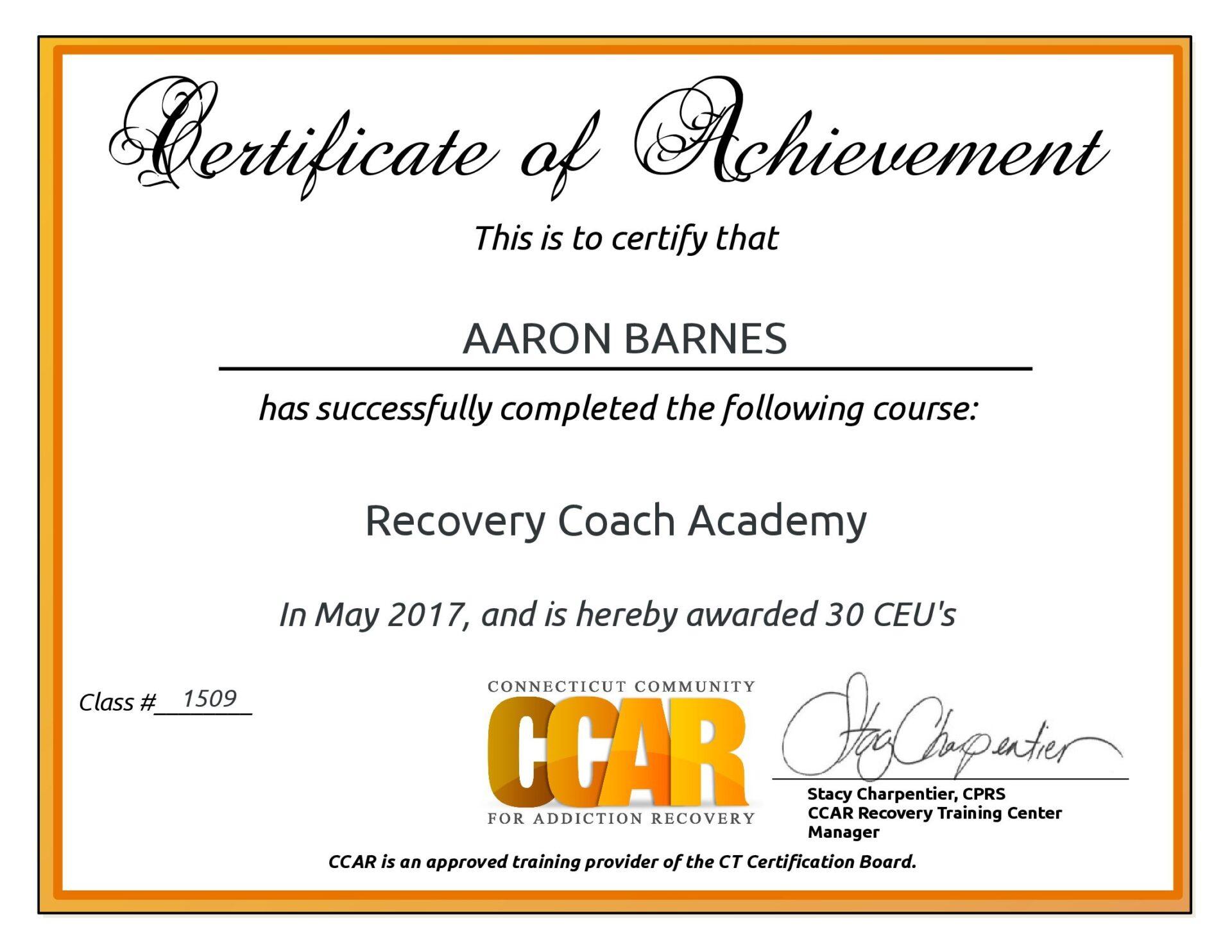 About Aaron Sober Coaching Inspiring You To Live A Sober